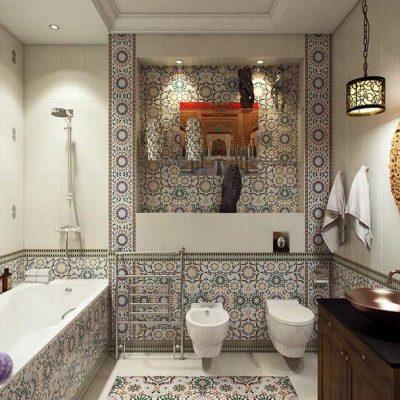 Цветовая палитра ванной комнаты