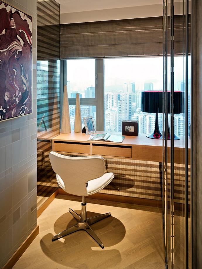 Дизайн интерьера кабинета в стиле минимализм