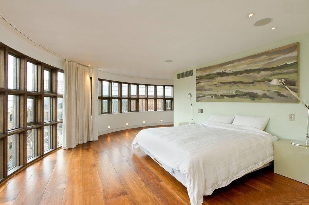 Дизайн интерьера комнаты в стиле минимализм