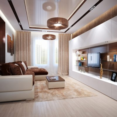 Дизайн комнаты в современном стиле фото интерьера