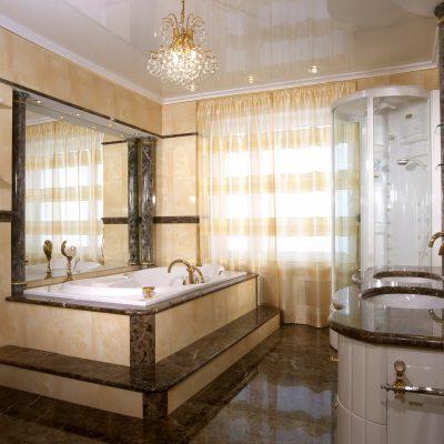 Дизайн в ванной в классическом стиле