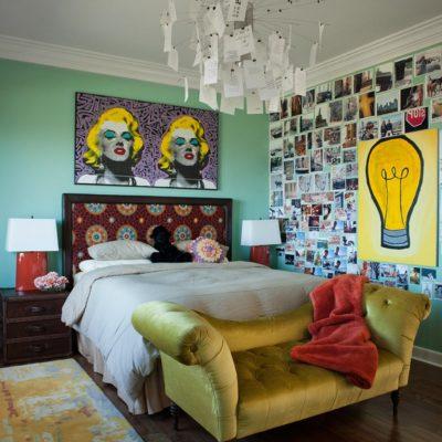 Спальня ретро стиля