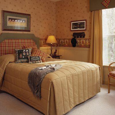 Идеи для спальни в стиле кантри