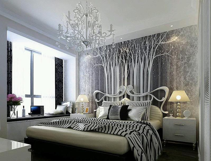 Интерьер и дизайн спальни в стиле модерн