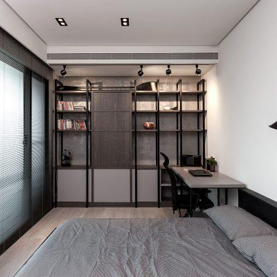 Интерьер минимализм однокомнатная квартира