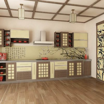 Японский тиль кухни на фото