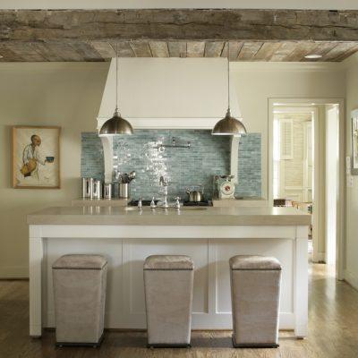 Яркий дизайн кухонного фартука