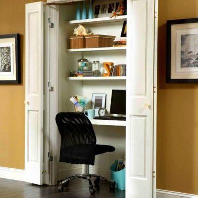 Использование шкафа для кабинета