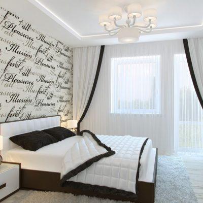 Картинка спальни в стиле минимализм