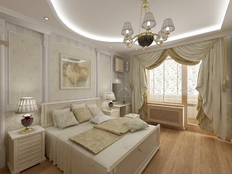 Комната в классическом стиле