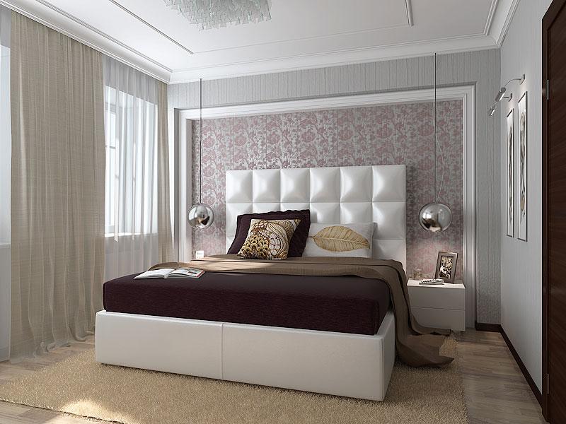 Красивая спальня в английском стиле