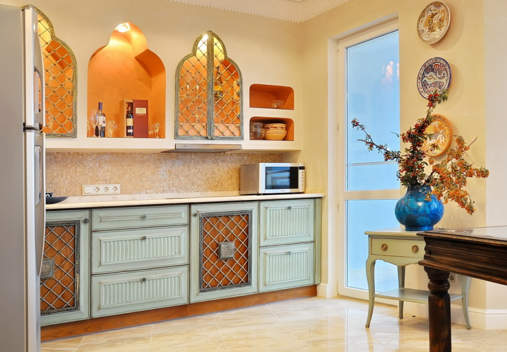 Восточная сказка: кухня в марокканском стиле