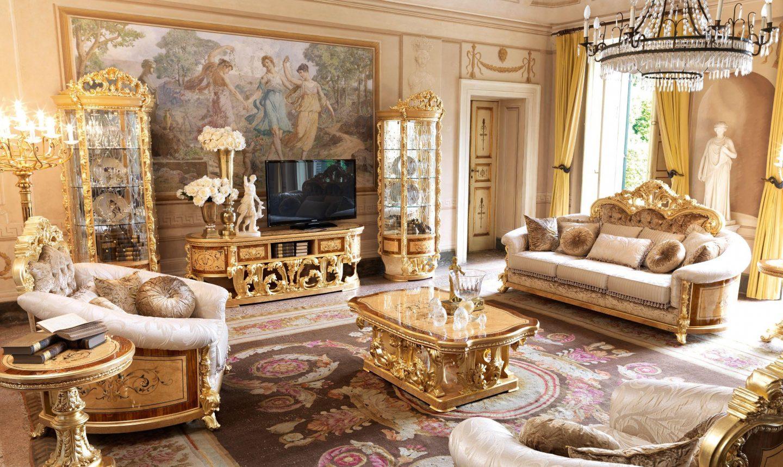 Величественный интерьер: комната в стиле ампир