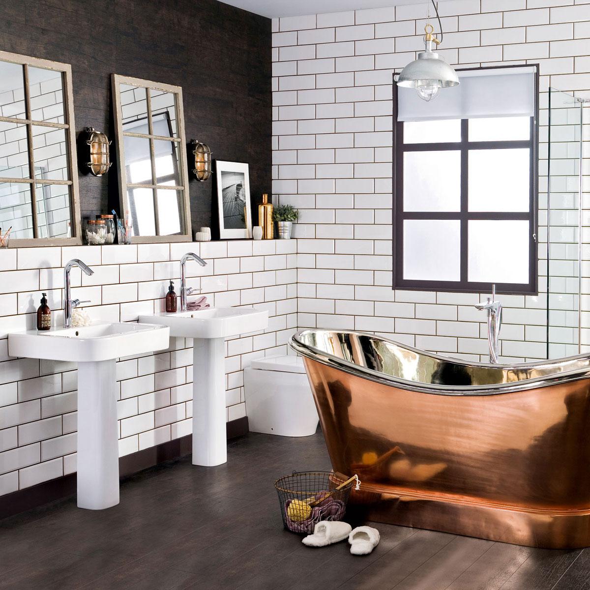 Маленькая площадь ванной