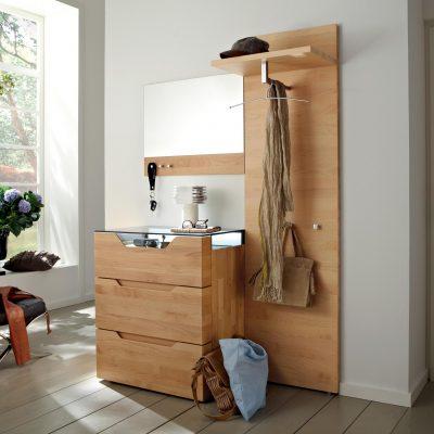 Мебель для прихожей из дуба и ольхи