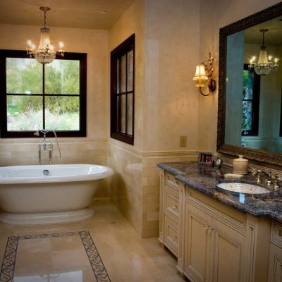 Мебель для ванной в классическом стиле