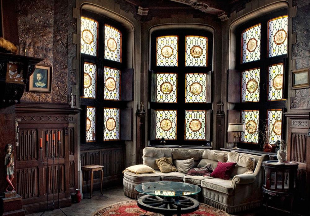 Мрачноватый готический стиль