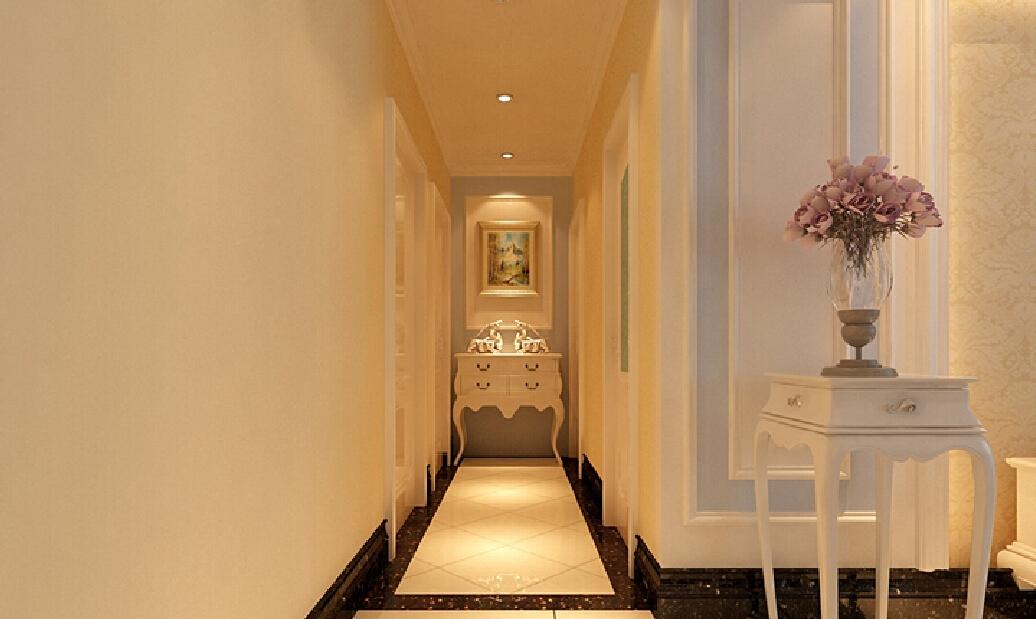 Интерьер коридора в стиле неоклассики