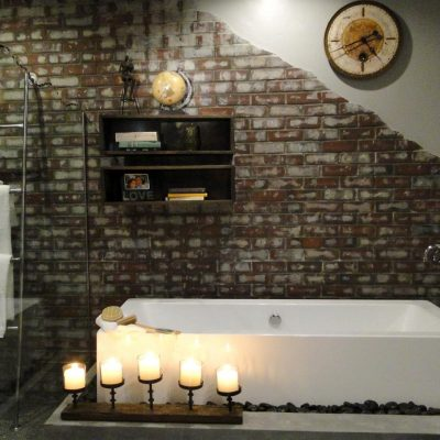 Особенности ванной комнаты в стиле лофт