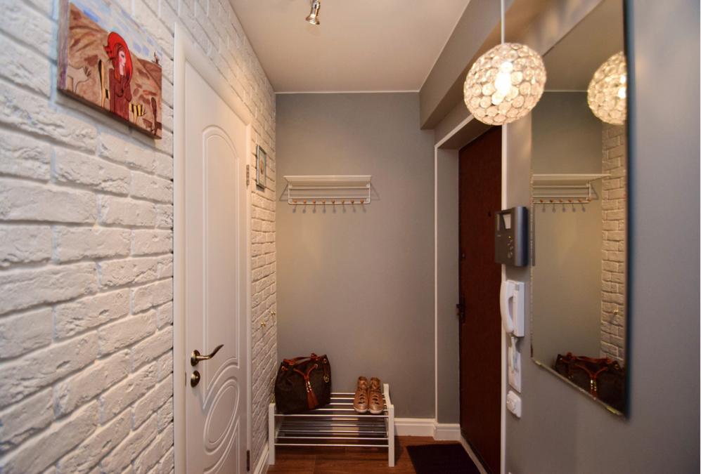 Прихожая дизайн для маленького коридора