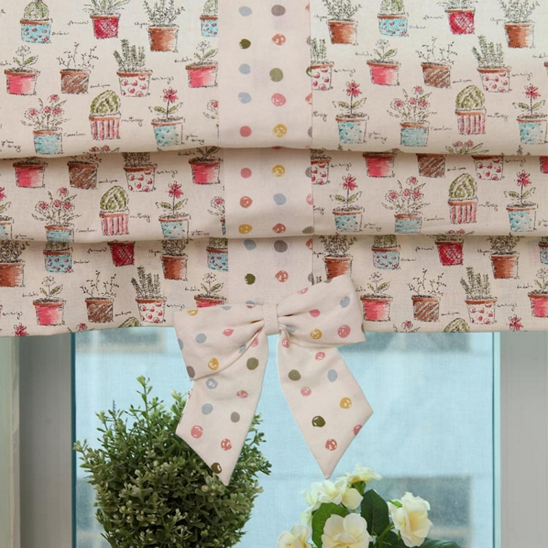 Римские шторы для детской своими руками