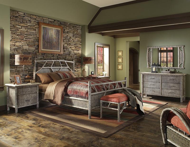 Интерьер спальня в стиле кантри фото интерьер