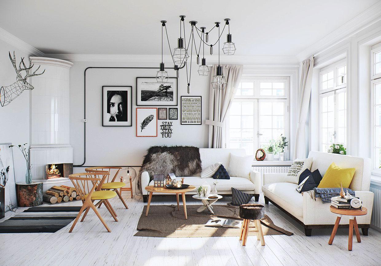 Фото скандинавский стиль в дизайне
