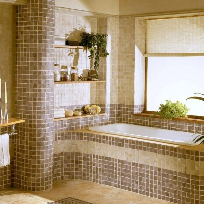 Мозаика ванной комнаты