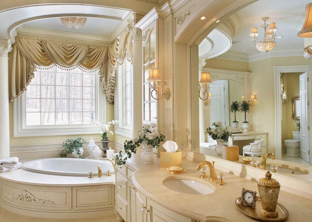 Богатое убранство ванной