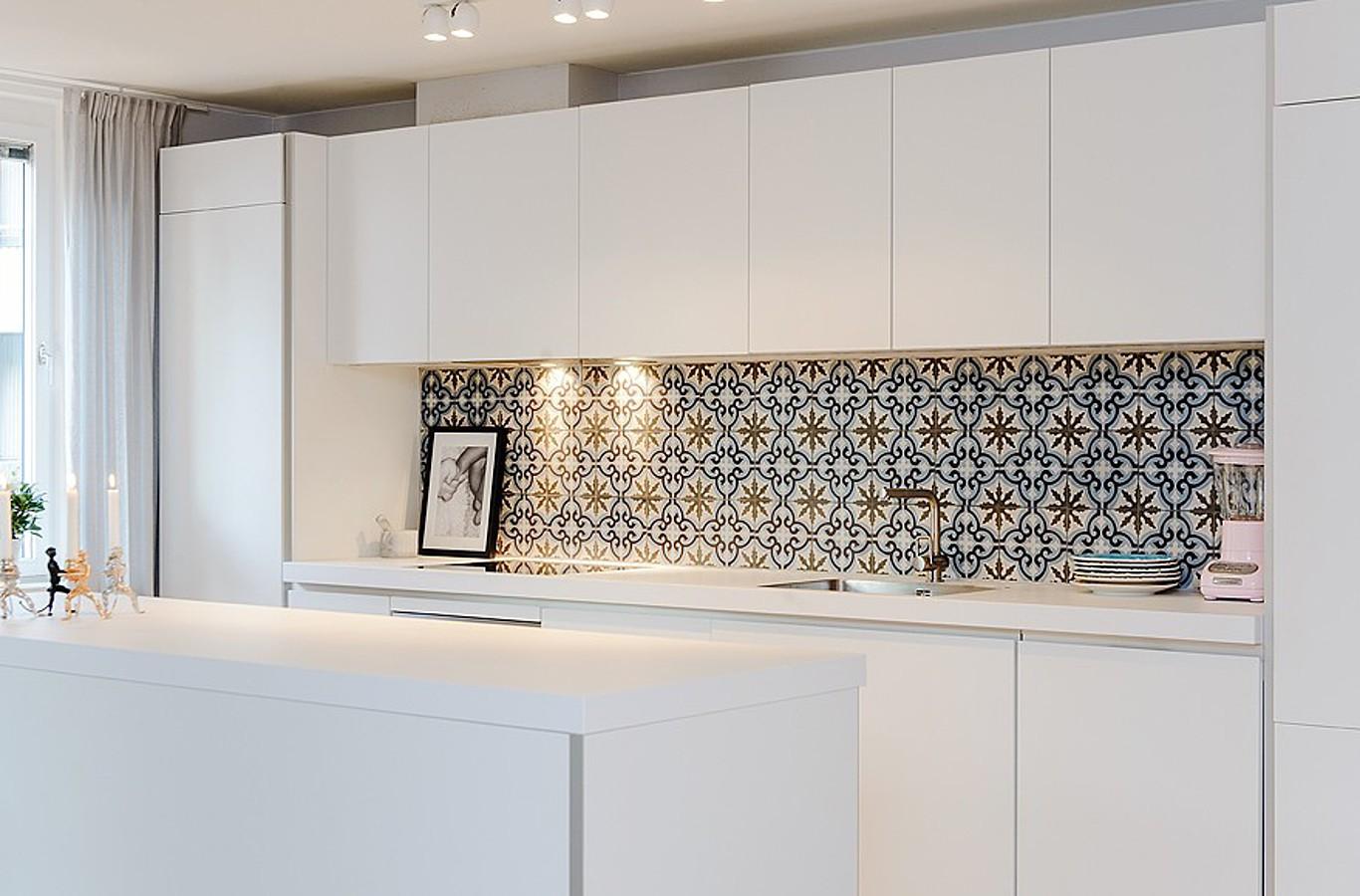 Шторы на кухню в марокканском стиле