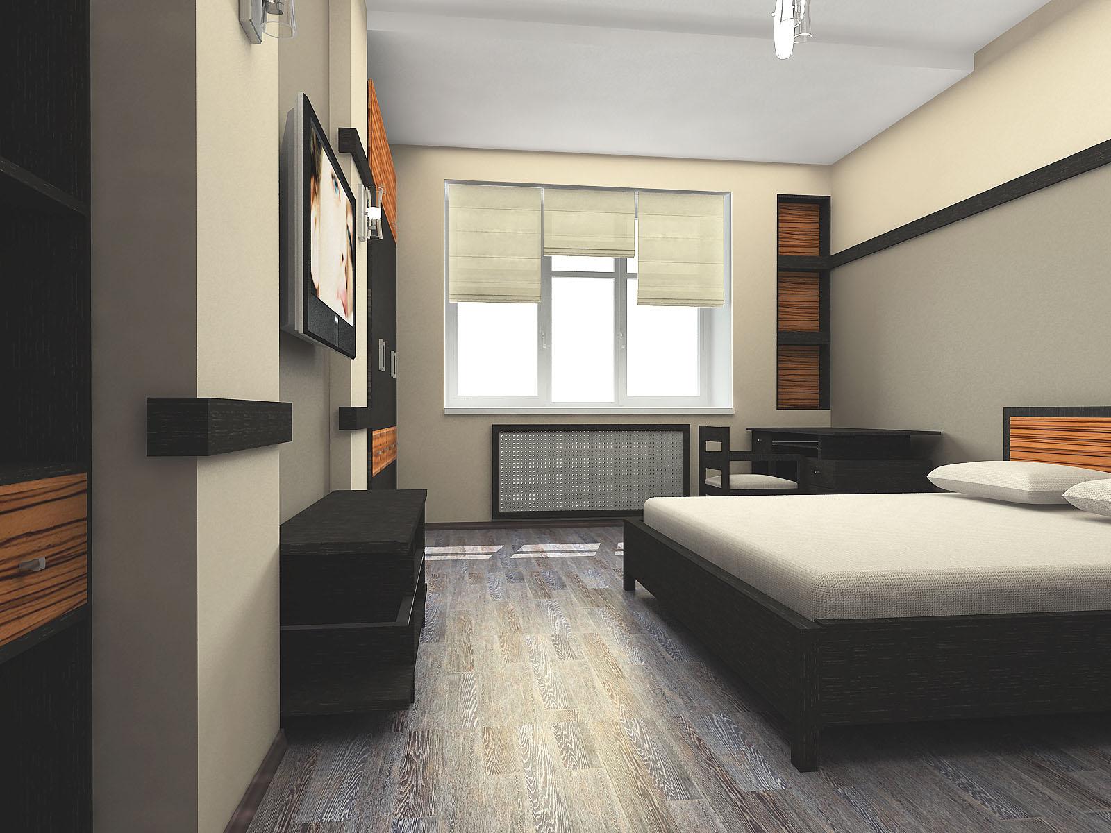 Создание интерьера спальни в стиле минимализм
