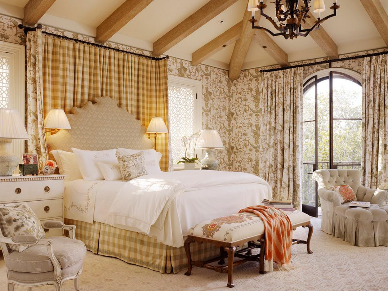 Спальня в английском стиле фотография