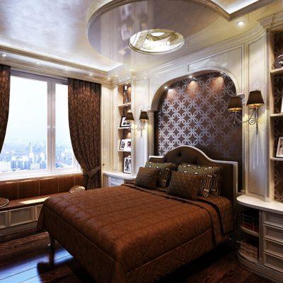 Спальня в классике фото