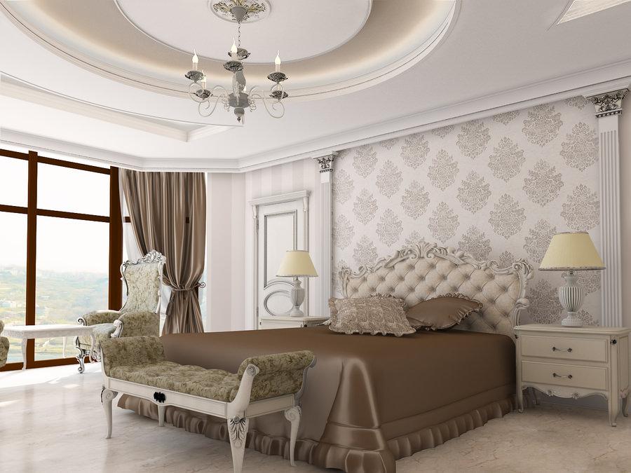 Спальня в стиле классика фото