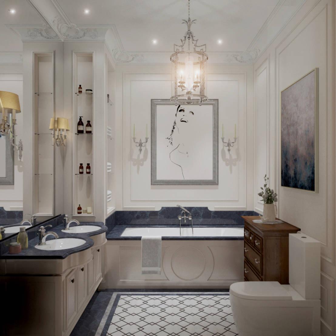 Удивительный дизайн ванной комнаты