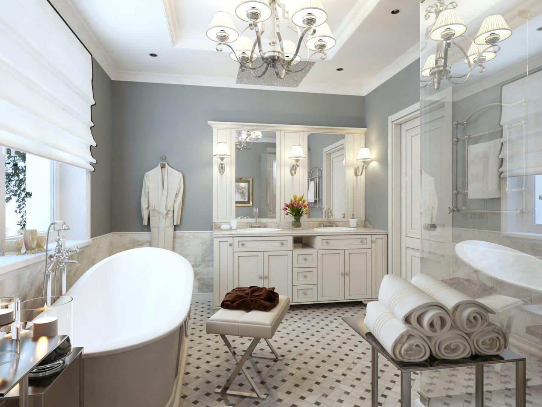 Почему так популярна ванная в классическом стиле