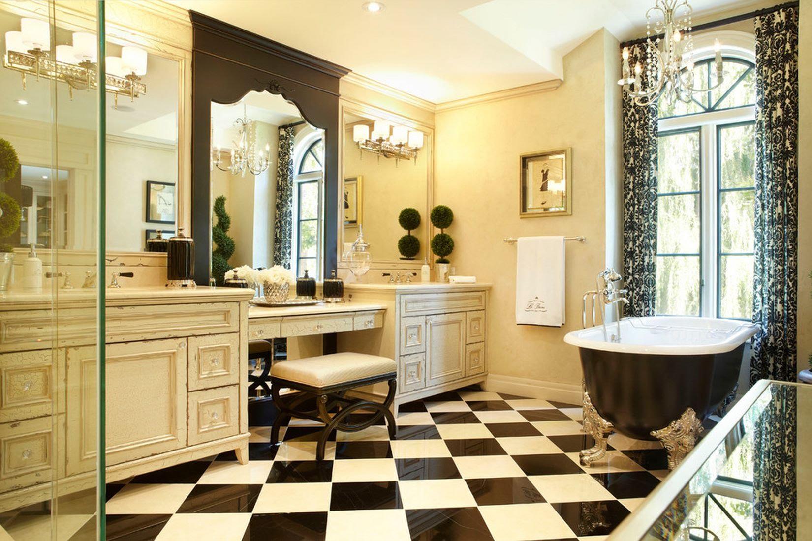 Ванная комната в классическом стиле картинка