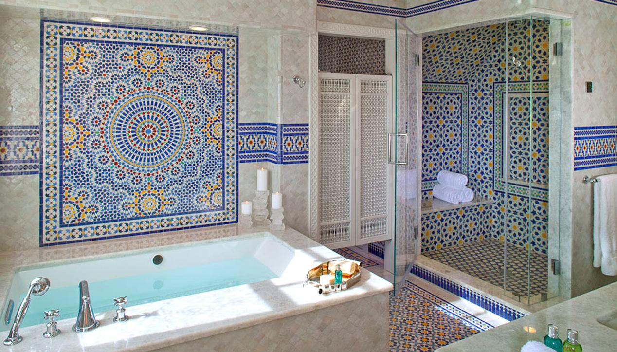 Ванная комната в марокканском стиле дизайн