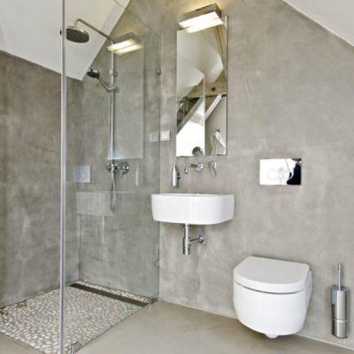 Ванная комната в стиле лофт минимализм