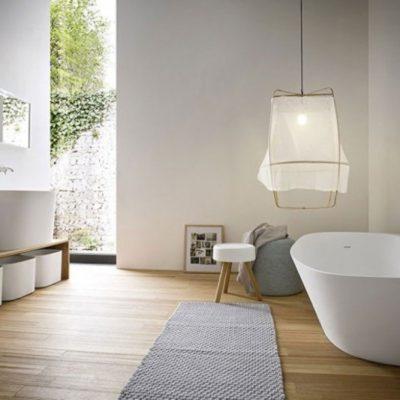 Ванная комната вдохновленный японской философии