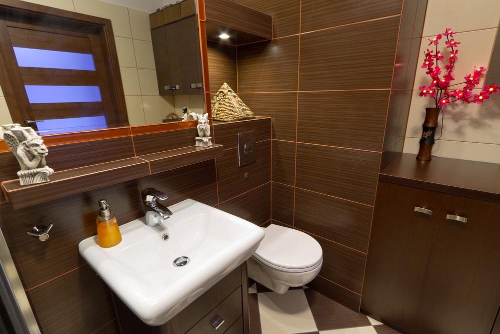 Сказочная ванная в восточном стиле