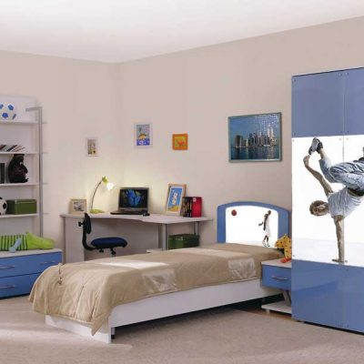 Спортивный стиль комнаты