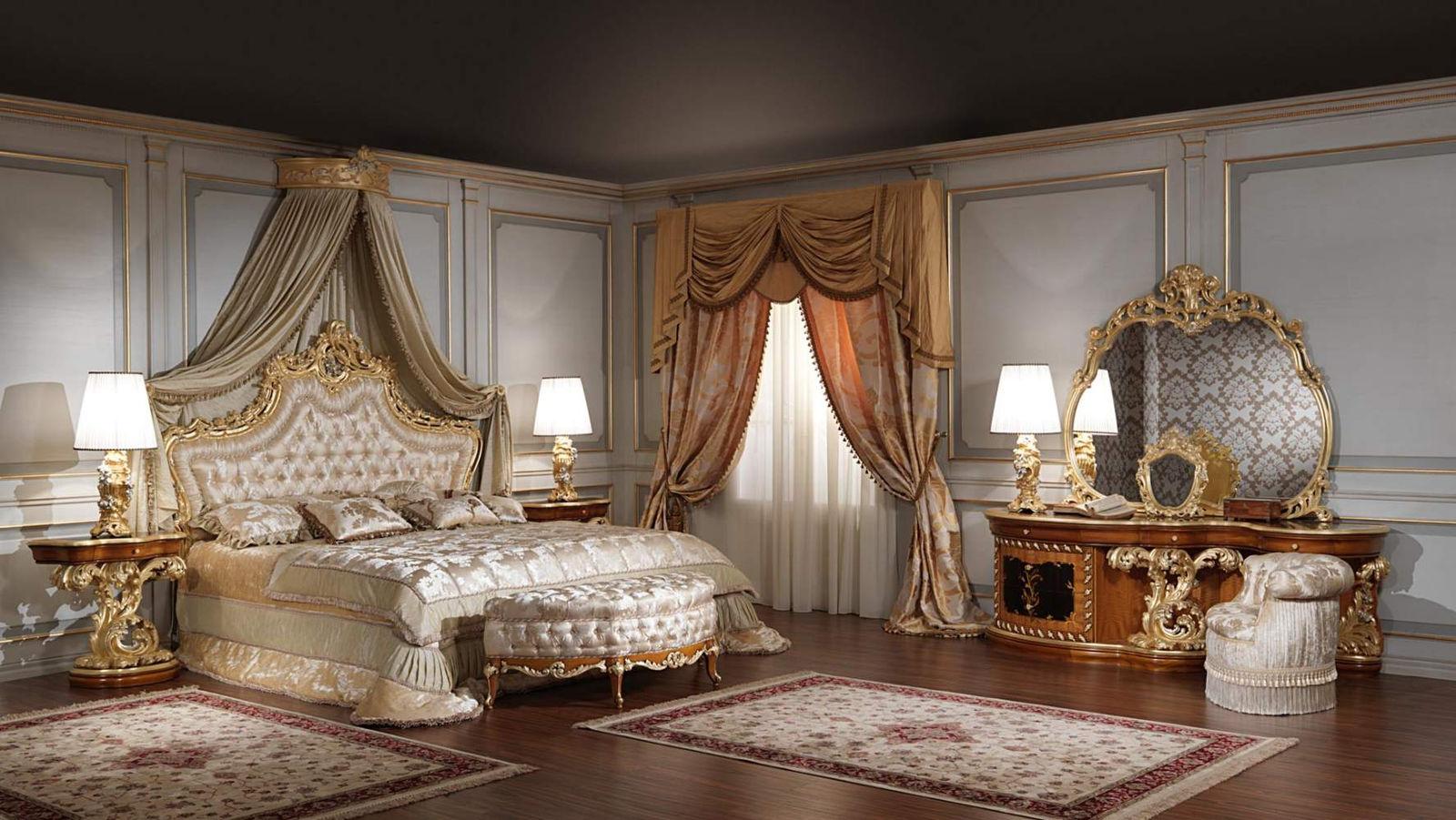 Спальня в стиле барокко будет лучшим решением для любителей изысканности и роскоши