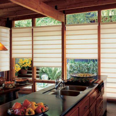 Рисовые шторы