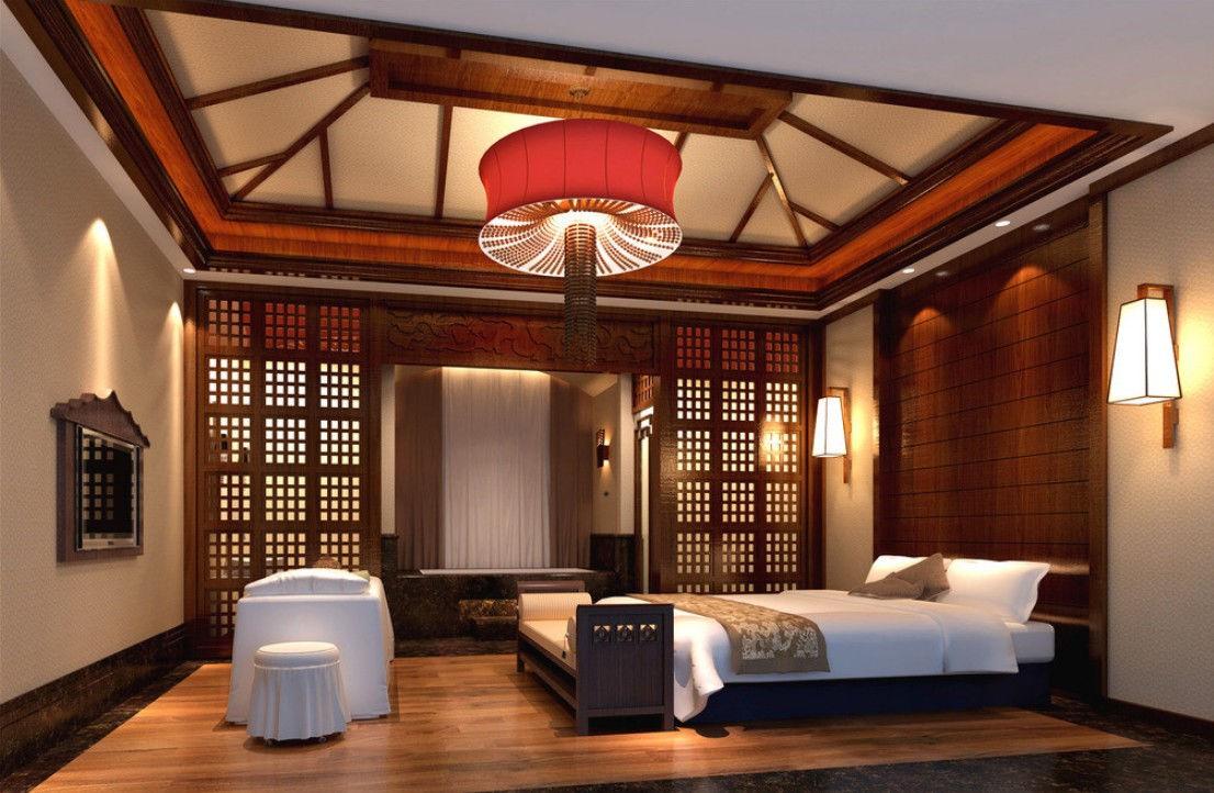 Спальня в китайском стиле - экзотика и красота Востока