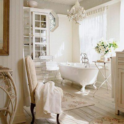 Английская ванная в викторианском стиле