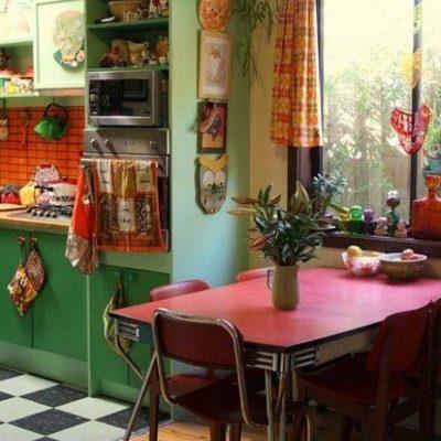 Кухня ретро стиля
