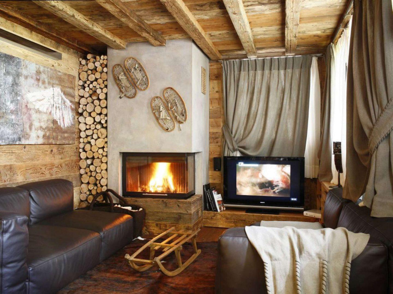 Очарование и уют сельской жизни: комната в деревенском стиле