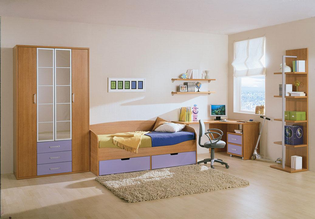 Большая, светлая комната простой геометрии - лучший вариант для ребенка