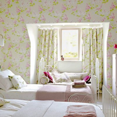 Комната для двоих девочек в стиле прованс